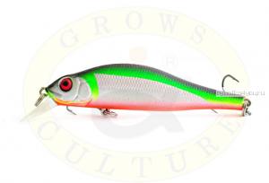 Воблер Grows Culture Swim Bait 80F 80 мм/ 6 гр/заглубление: 0,5 - 1,2 м/ цвет: Q10