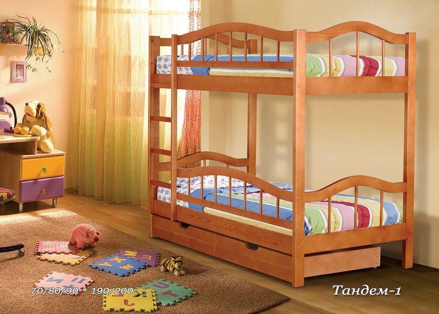 Двухъярусная кровать Тандем-1 | Альянс XXI век