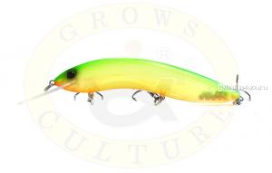 Воблер Grows Culture Flathead 120F 120 мм/ 13 гр/заглубление: 5+ м/ цвет: Q19