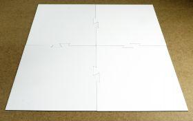 Поле сборное для создания настольных игр, белое