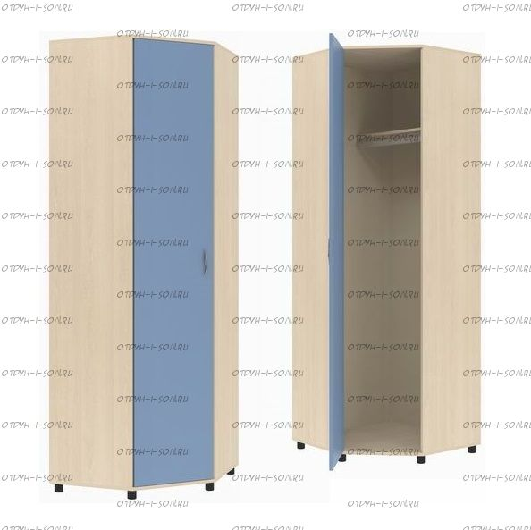 Шкаф угловой Дельта-2 (74х74х216)