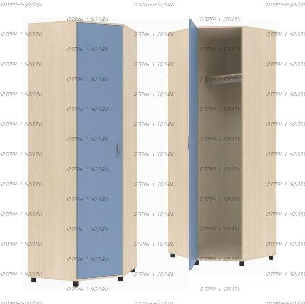 Шкаф угловой Дельта-1 (74х74х216)