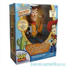кукла шериф Вуди Woody деЛЮКС говорящий 40 см