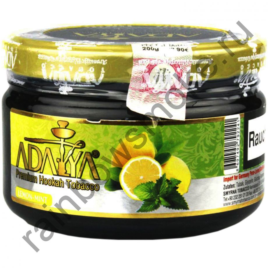 Adalya 250 гр - Lemon-Mint (Лимон и Мята)