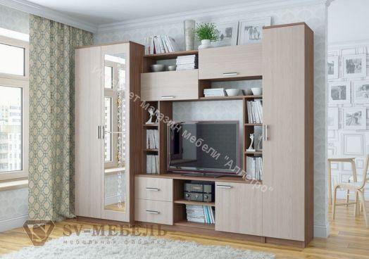 """Гостиная """"Гамма 16"""" (SV-мебель)"""