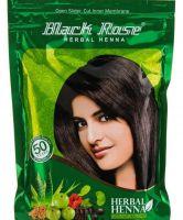 Натуральная индийская хна для волос Black Rose Herbal Henna, купить в интернет магазине