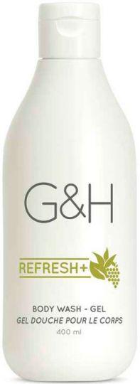 G&H Refresh+ Освежающий гель для душа 400 мл