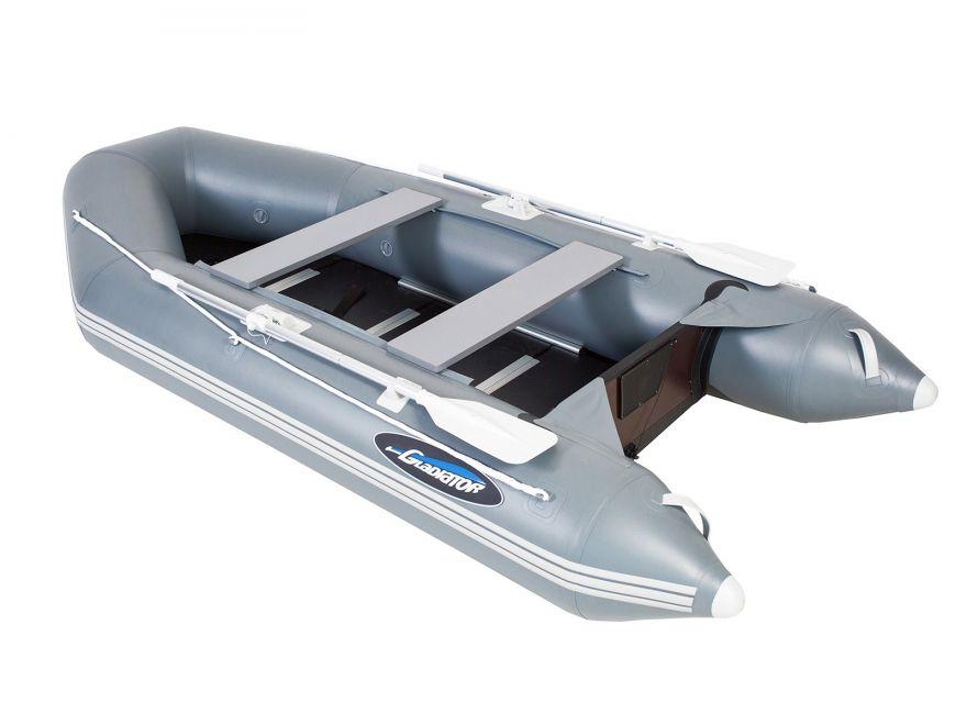 Моторно-гребная лодка ПВХ GLADIATOR А 340 ТК