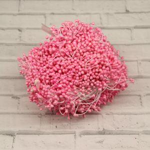 Тычинки перламутровые двусторонние, 3х60мм, цвет №03 розовый (1уп = 1500-1600 тычинок)