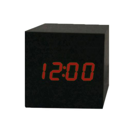 Часы эл. VST869-1 крас.цифры (ЧЁРНЫЕ)