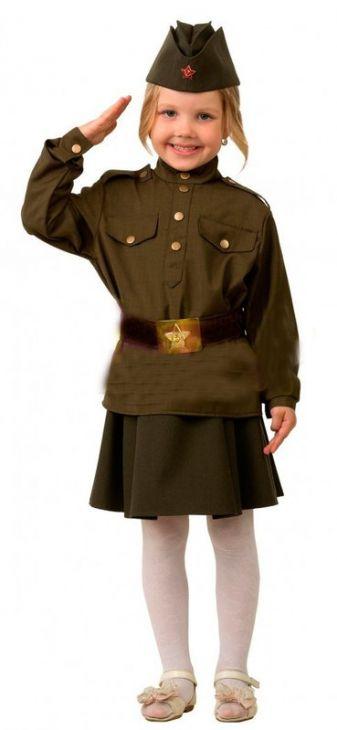 Военная форма для девочек Солдатка
