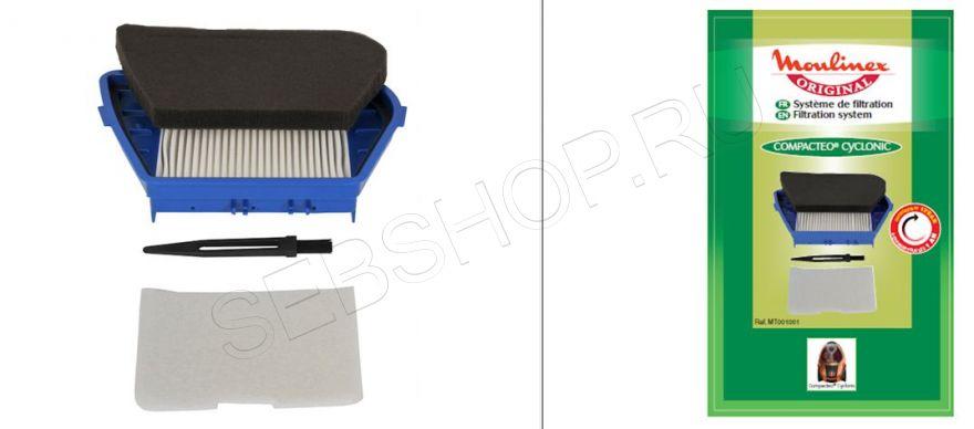 HEPA  фильтр к пылесосам Ровента (Rowenta) серии COMPACTEO CYCLONIC RO34... Артикул ZR004601