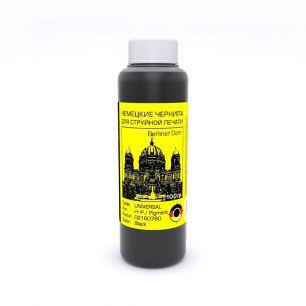 Универсальные черные чернила Bursten (ОСР Gmbh) для HP, Black Pigment, 100гр.