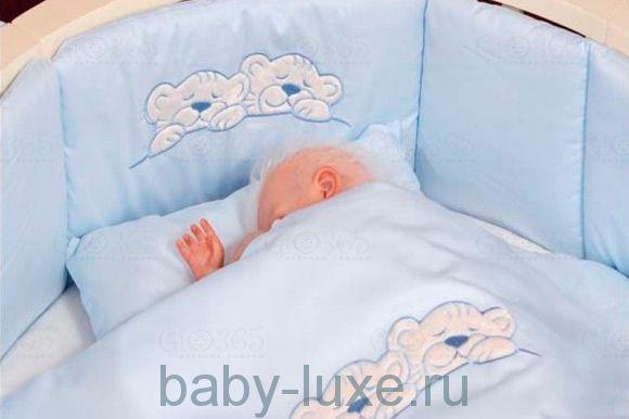 Комплект 6 предметов 6078 Incanto в овальную кроватку 125х75 см