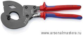 Ножницы для резки кабелей, для провода (КАБЕЛЕРЕЗ) ACSR KNIPEX 95 32 340 SR