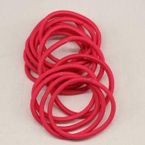 Резинка для волос бесшовная, диаметр 50 мм, цвет 03 ярко-розовый (1 уп=24 шт)
