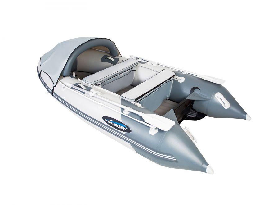Моторная лодка ПВХ GLADIATOR E 330 Air с НДНД