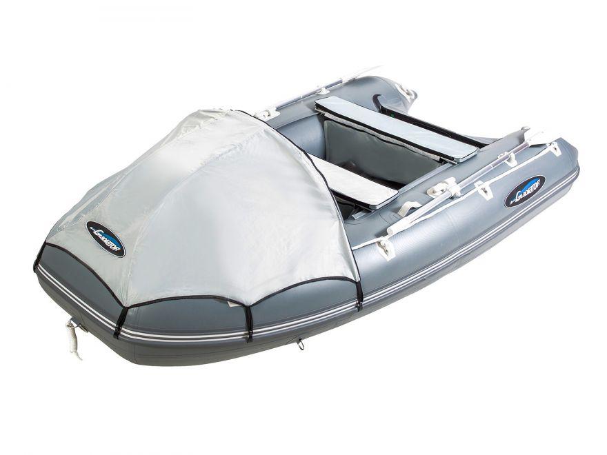 Моторная лодка ПВХ GLADIATOR E 350 Air с НДНД