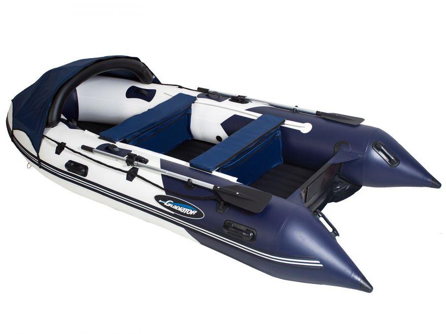 Моторная лодка ПВХ GLADIATOR E 420 Air с НДНД