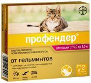 Профендер 112 Капли на холку от гельминтов для кошек от 5 до 8 кг