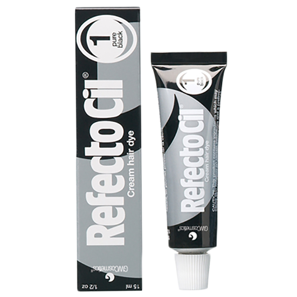 Краска для бровей и ресниц Refectocil ( Чёрная ) 1