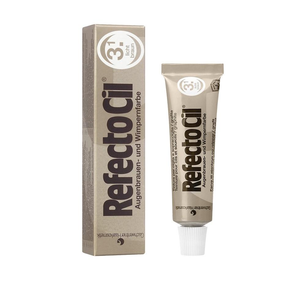 Краска для бровей и ресниц Refectocil ( Светло-коричневая ) 3.1