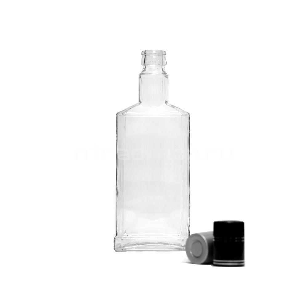Бутылка под дозатор Штоф 0,5 / 15 шт. (колпачок гуала 47 мм)
