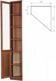 У-209. Шкаф для книг   2216x300x113x370 мм  ВxШxГ