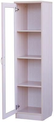 У-212. Шкаф для книг узкий  1488x376x370 мм  ВxШxГ