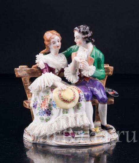 Изображение Пара на скамейке, Volkstedt, Германия, вт. пол. 20 в