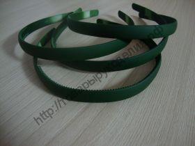 ободок 12мм каучук темно-зелёный