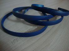 ободок 12мм каучук темно-синий