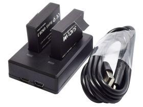 Зарядное устройство для камер SJCAM M20 (на 2 акк.)