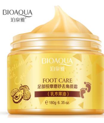 Пиллинг -скатка «BIOAQUA»  для ног с авокадо.(7151)