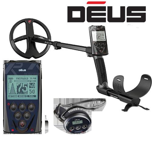 Металлоискатель XP Deus v5.1 c блоком управления с наушниками WS4 c катушкой X35 28 см (11'')