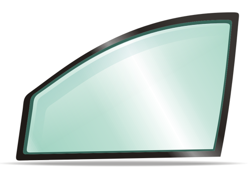 Боковое правое стекло RENAULT CLIO 2005-