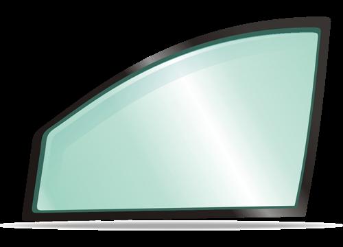 Боковое правое стекло RENAULT CLIO 2001-2005