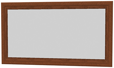 У-ЗП2. Зеркало в прихожую   600x1120x21 мм  ВxШxГ