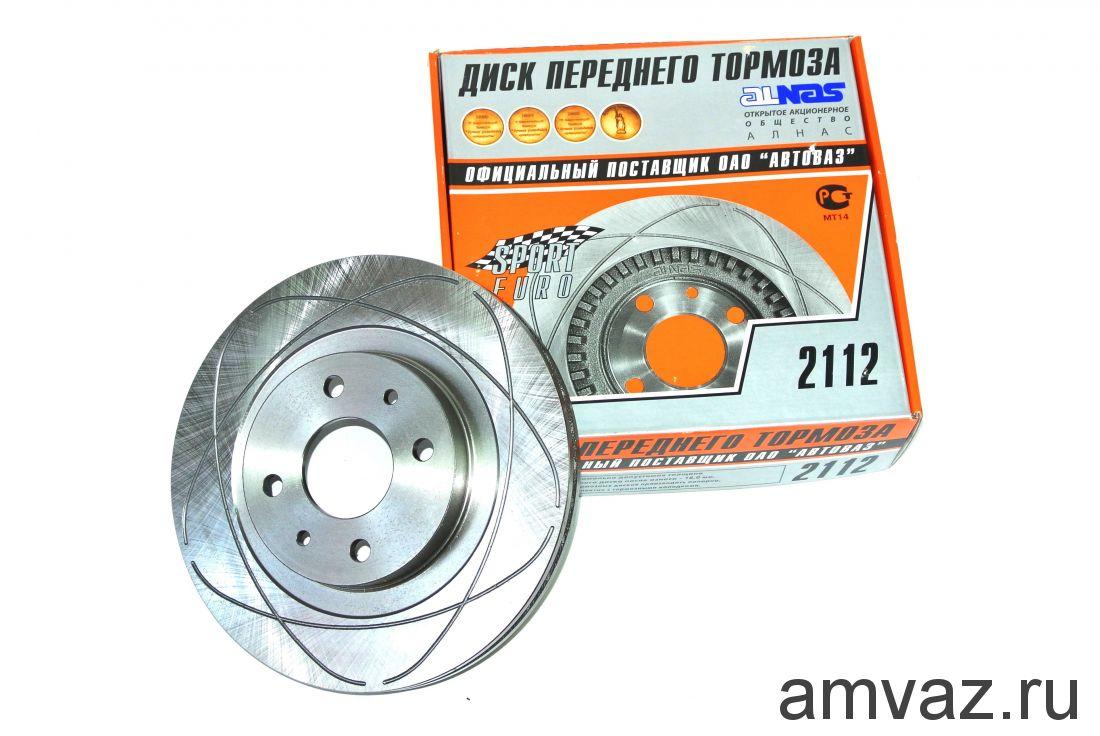 Диск переднего тормоза ALNAS  2112-3501070-01