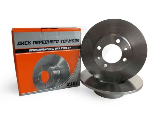 Диск переднего тормоза ALNAS  2101-3501070