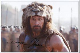 Автограф: Дуэйн Джонсон. Геракл