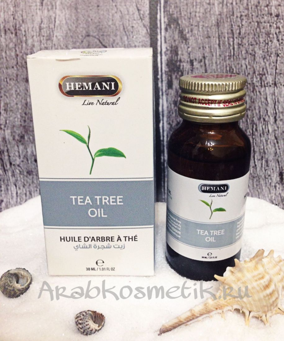 Масло HEMANI  Tea tree oil 30мл
