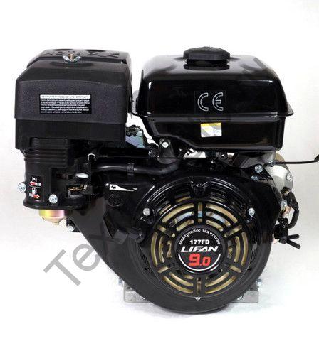 Двигатель Lifan 177FD D25 (9 л. с.) с катушкой освещения 3Ампер (36Вт)