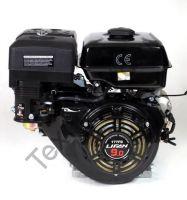 Lifan 177FD D29 (9 л. с.) четырехтактный бензиновый двигатель, мощностью 9 л. с., и диаметром выходного вала 25 мм.Комплектуется ручным и электрическим стартом.
