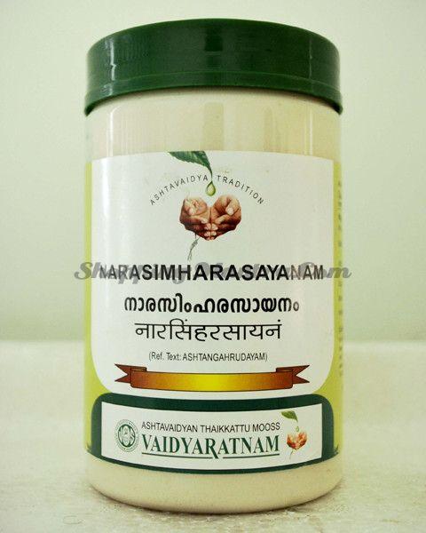 Нарасимха Расаяна укрепляющий тоник Вайдьяратнам Оушадхасала | Vaidyaratnam Oushadhasala Narasimha Rasayanam