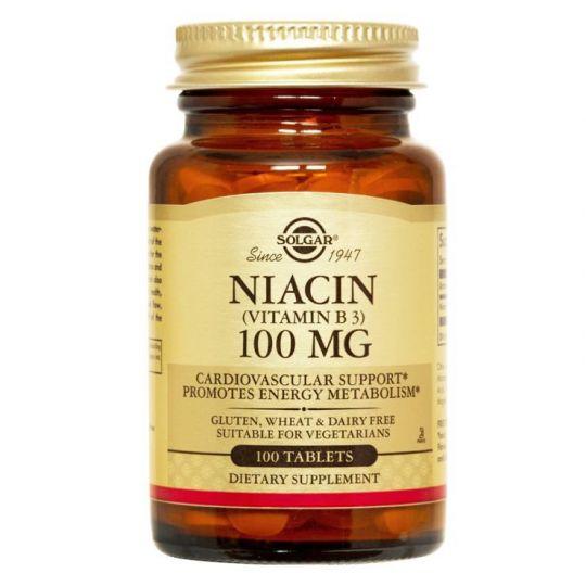 Ниацин (Витамин В3) 100 мг. - 100 табл