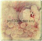 1511014-12-2212-1 Cir Marble Age Ins.Botticino S/3 Beige (Персик+Виноград) 10х10 см (CIR, Италия)