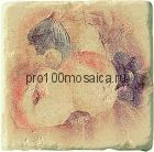 1511014-12-2212-3 Cir Marble Age Ins.Botticino S/3 Beige (Персик+Яблоко+Виноград) 10х10 см (CIR, Италия)
