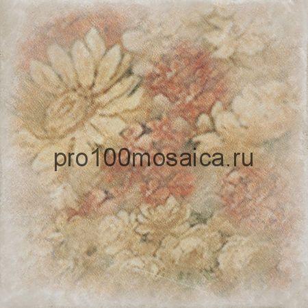 1511014-240-02240-1 Cir Marble Age Inserto Ottocento Botticino S/3 (Ромашки) 10х10 см (CIR)