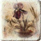 1511084-00-1300-1 Cir Marble Age Ins.Travertino S/3 (Один Цветок) 10х10 см (CIR, Италия)